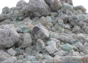 Fluorspar Ball/ Mineral Fluorite for Ferroalloy Metallurgy
