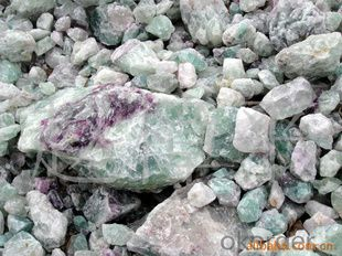 High grade caf2 fluorite with high purity