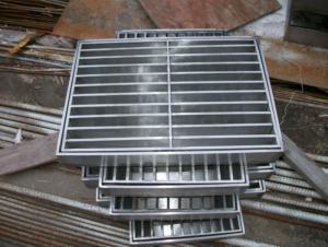 Ductile Iron Manhole Cover EN124/d400,Grey Iron GG20