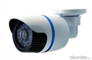 HD Network IR Waterproof Camera with 3.6MM Megapixel Lens