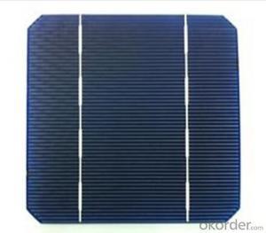 Monocrystalline Solar Cell for Solar PV Panel