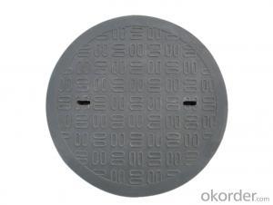 Manhole Cover BS&EN124 D400/C250 for Construction Use