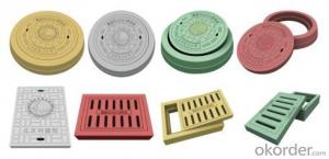 Manhole Cover BS&EN124 D400/C250/B125 for Construction and Public Use