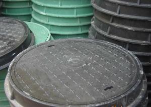 Ductile Iron Manhole Cover EN124 Class B125 C250 D400,Grey iron GG20