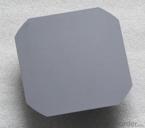 Solar  Mono  Silicon  Wafer for Solar Cell (156 and 125)