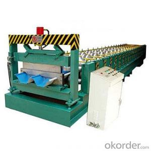 floor deck roll forming machine in different trypes