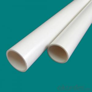 PVC Pressure Pipe (ASTM Sch 80)20-200mm Diameter Socket Fusion Joint