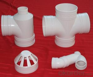 PVC Pipe with 110MM 0.6MPa 0.8MPa 1.0MPa 1.25MPa