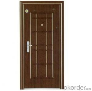 Anti theft door,a new single window door in door