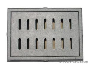 Ductile Iron Manhole Cover EN124/d400,GGG500&400-12/Grey Iron GG20