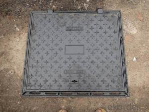Manhole Cover BS&EN124 D400/B125 for public use