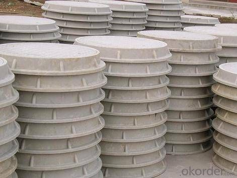 Manhole Cover Ductile Iron GGG500&400-12 Cold Applied Bitumen