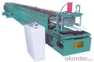 Advertisements plate, shed plate roll forming machine