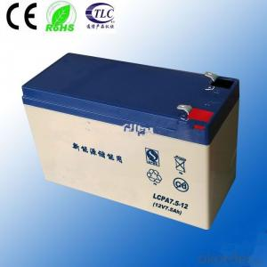 gel battery ISO CE ROHS TLC Certificate 12v 38ah