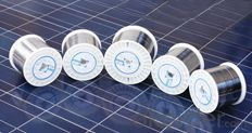 semi-automatic use solar ribbon for modules