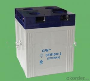 gel solar battery for solar off grid system 2v 100ah