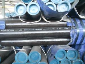 Seamless Black Steel Pipe API PSL1/PSL2/X52