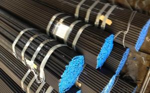Cold draw black seamless steel pipe made in China