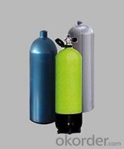 High Pressure Aluminium Diving Tank / Scuba Tank