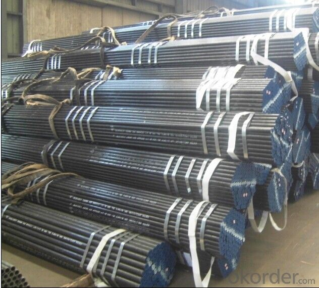 Seamless Black Seel Pipe ASTM A106Grade B