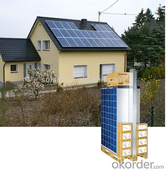 8KW Homeuse Grid Solar System without Battery