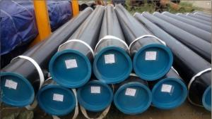 Hot rolled  black seamless steel tube Gr.B