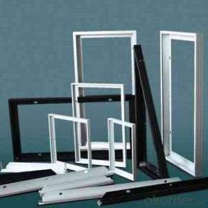 aluminum frame for black mono solar  modules