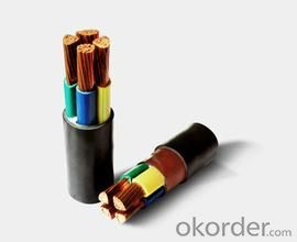 Flame retardant, copper conductor, XLPE insulation, PVC sheathed,steel wire screen/armor power cable
