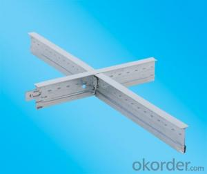 Suspension Ceiling T Bar Galvanized /T Grid Groove System