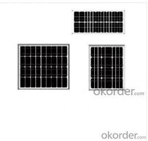 Mono   Crystalline Solar Panels of CNBM Brand Competitive Price