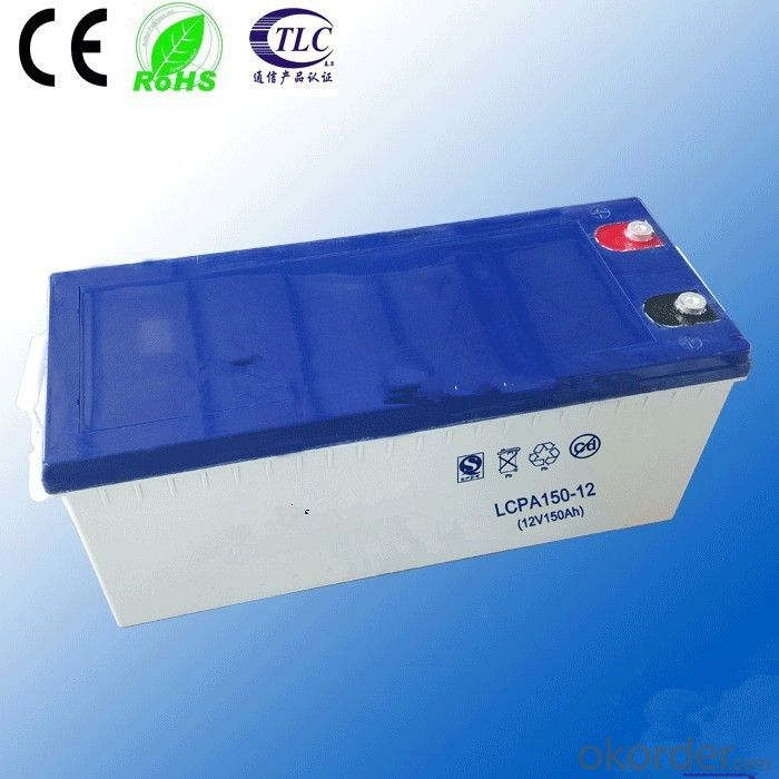 gel deep discharge battery CE ROHS approved batteries 2v 100ah