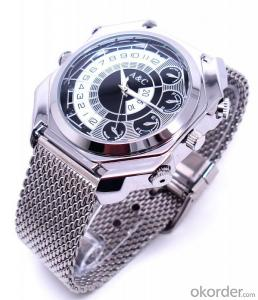 New 1080P Voice Activation Wrist Watch Camera IR Night Vision Mini DVR