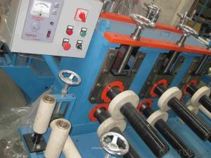 Plastic Film Tape Sticking Machine For section aluminum