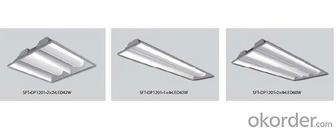 LED Recessed Troffer Artemis series high performance