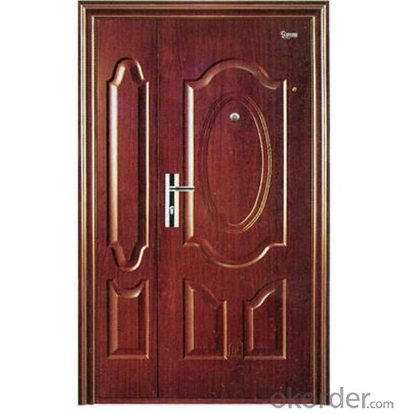 anti thief door,steel galvanized steel door,