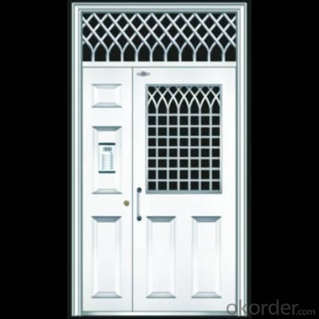 anti thief door,The thickness of the steel plate front facade 1.0MM backdoor surface 1.0MM