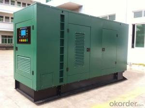 Smal Engine Automatic Operated Diesel Generator Set with Silent Canopy