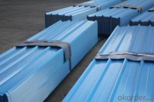 PREPAINTED CORRUGATED STEEL SHEET WITH BRIGHT