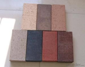 Lightweight Concrete Brick for Interior Red Brick Wall