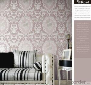 PVC Wallpaper 2014 Latest Deep Embossed Wallpaper for Home Decoration