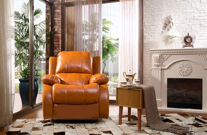 Contemporary Functional Manual Recliner Sofa