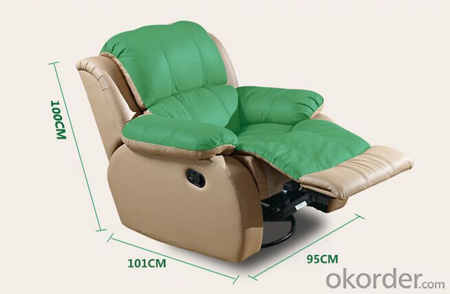 Modern Design Functional Manual Recliner Sofa