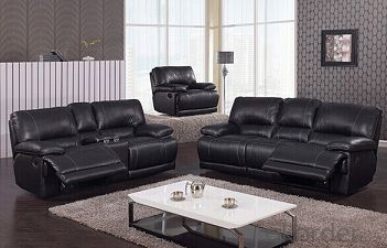 Living Room Functional Manual Recliner Sofa