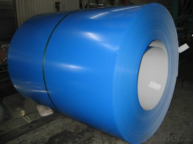 PRE-PAINTED ALUZINC STEEL  COIL    WITH   HIGH   QUALITY