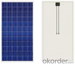 250w Polycrystalline solar panel stocks made in Wisconson