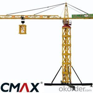 Lopless Tower Crane New CMAX TC4808 Tyre