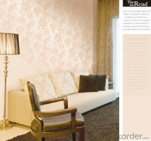 PVC Wallpaper Gold Glitter Gold Leaf Acanthus Wallpaper
