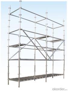 Ringlock Scaffolding Superior Q235 Q345 Steel Galvanized
