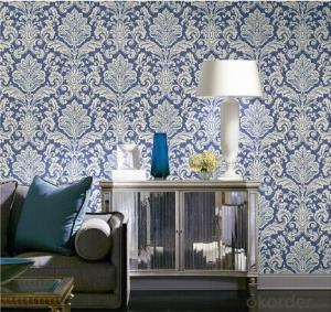 PVC Wallpaper Home Decor Chinese Design Wallpaper