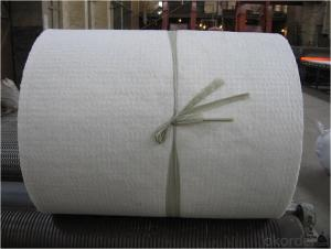 Fiber Blanket has Low Thermal Conductivity